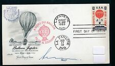 59943) Ballonpost USA Lafayette 17.8.59, sp cover flown in NL and signed Pilot
