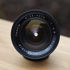 Tokina wide-auto 1:3 .8 f = 21mm ** m42 Ultra Wide angle lens