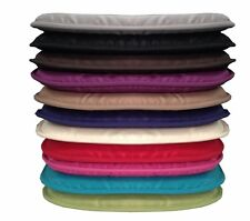 NEW Plain Coloured Kitchen/Dining Room/Patio Tie-on Seat Pad cushions