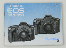 Canon EOS 650 Bed-anleitung Instructions english Edit 03510