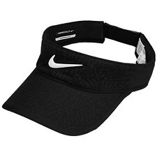 Nike Women's Golf Tech Visor Cap Hat Adjustable Black 742709-010
