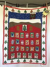 Quilted Advent Calendar Ebay