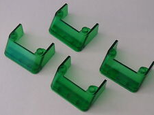 Lego 4 parebrises transp vert set 6471 6332 6636 2234 / 4 trans green windscreen