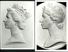 1971 MACHIN HEAD, OFFICIAL POST OFFICE PHOTO'S (X2) (Approx 105mm x 155mm), bac