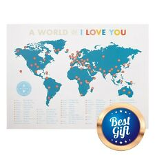 "Romantic Gifts For Him Her Men Unique I Love You Valentine's Day POSTER 18""x 24"""