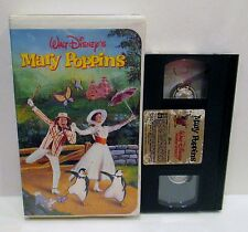MARY POPPINS VHS VIDEO TAPE, Walt Disney Home Video
