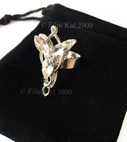 Arwen Evenstar Necklace RING HOBBIT LOTR Lord Of The Rings Elven Adjustable