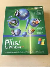 Windows xp Microsoft plus NEW with product key Vintage Software Old Computer