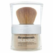 Minerales Loreal True Match Polvo Base # D6/W6 Miel (sellado)