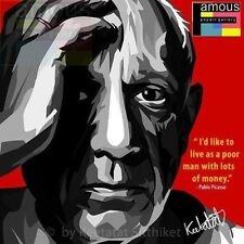 Pablo Picasso canvas quotes wall decals photo painting framed pop art poster