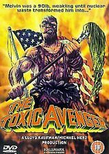 THE TOXIC AVENGER (DVD, 2004) Region 2. Troma Cult Comedy Horror