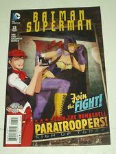 BATMAN SUPERMAN #23 VARIANT DC COMICS NM (9.4)