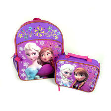Disney Frozen Girl's Backpack and Detachable Lunch Kit Bag