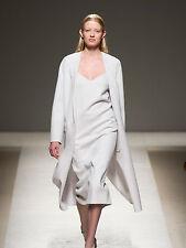 Abito MAX MARA in Lana e Angora Pearl Grey - Catwalk dress size 44