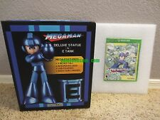 Mega Man Statue & E-Tank Legacy Collection XBOX ONE Collector's Edition Special