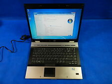 AS IS, HP E8530P P8600, 320GB, 4GB RAM, Intel Core 2 Duo, 2.40GHz, Win 7-64bit