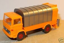 WIKING HO 1/87 MERCEDES KUKA CAMION POUBELLE REFUSE TRUCK SANITARY MULLWAGEN d