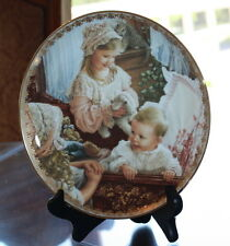 BRADFORD EXCHANGE COLLECTOR PLATE MOMENTS AT HOME COLLECTION MOMENTS OF LOVE