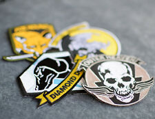 Metal Gear Solid Embroidered Patches - Outer Heaven, Foxhound, Diamond Dogs + 1