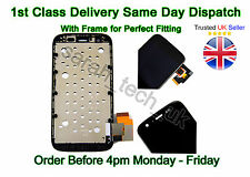 Motorola MOTO G 1st Gen LCD Screen Touch Digitizer Assembly Black with Frame