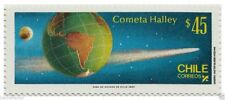 Chile 1985 #1163 Cometa Halley Space MNH