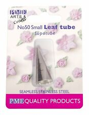 PME #50 Small Leaf Stainless Steel Icing Fondant Piping Decorating Nozzle Tip