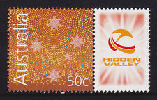 2007 V8 Supercars - Hidden Valley Darwin -  MUH 50c Stamp with Personalised Tab
