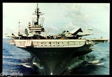 USS Constellation CV-64 postcard US Navy warship aircraft carrier (cd2)