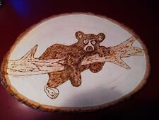 CUTE LITTLE BEAR, Wood burning, AWESOME **SPECIAL** (BE20151)