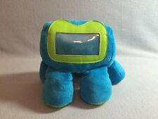 Griffin Woogle 2 P5784 5 Leg Picture Frame Holder Stuffed Blue Green Lovey EUC