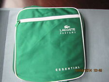 LACOSTE ESSENTIAL GREEN&WHITE Compact Backpack Rucksack SPORTS DUFFLE BAG TRAVEL