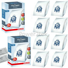 8x Genuine Miele GN, 10123210 Vacuum Cleaner Bags for S424I S434I S438I NEW