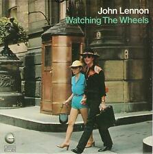 JOHN LENNON  Watching The Wheels 45 with PicSleeve  THE BEATLES