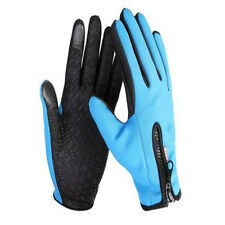 Waterproof Men's Women Winter Bicycle Ski Warm Motorcycle Touch Driving Gloves R