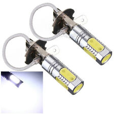 2x H3 12V 7.5W COB LED Light High Power Super white Bulb Headlight Fog Lamp NEW