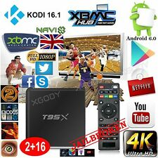 XGODY Android 6.0 KODI 16.1 FULLY LOADED 4K Sports Movies 2+16GB TV BOX MINI PC