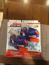 NEW WITH BOX Super Soaker Nerf Max-D 3000 2 Pack