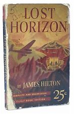 Lost Horizon James Hilton 1939 Rare First Pocket Book Edition 1st Mass Market