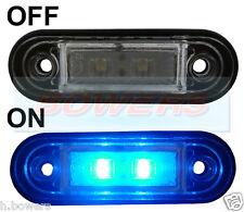 12v/24v Flush Fit Azul Led marker/position Lámpara pára kelsa Bol Bar como Rdx