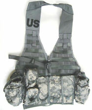 USGI ACU MOLLE II FIGHTING LOAD CARRIER VEST + 9 POUCHES RIFLEMAN'S KIT NEW!