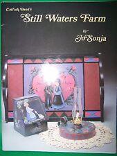 CATFISH BEND'S STILL WATER FARM BY JO SONJA 1986 TOLE PAINT BOOK FOLK ART