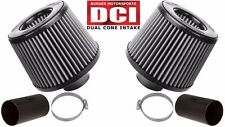 Burger Tuning BMS N54 Dual Cone Performance Intake White Filters for BMW