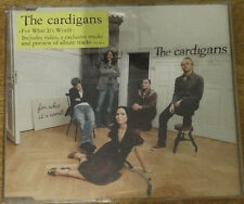 The Cardigans, For What It's Worth cd single, Stockhom Records