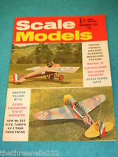 SCALE MODELS - FRENCH AVIATION CLASSICS - NOV 1972