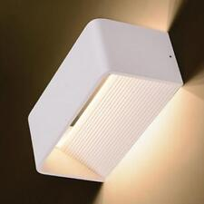 White Modern 6W Wall Light LED Sconce Lighting Lamp Indoor Outdoor