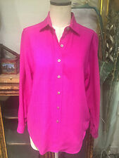 Burberry Women's Pink Casual Shirt Size Small DNT