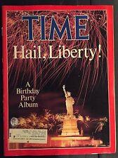 TIME MAGAZINE JULY 14, 1986 HAIL LIBERTY! A BIRTHDAY PARTY ALBUM