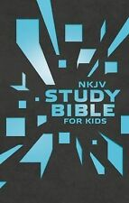 NKJV Study Bible for Kids Grey/Blue Cover : The Premiere NKJV Study Bible for...