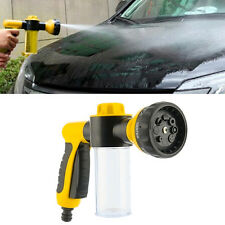 8 in1 Spray Pattern Adjustable Water Gun&Soap Dispenser Hose Nozzle Car Wash Y