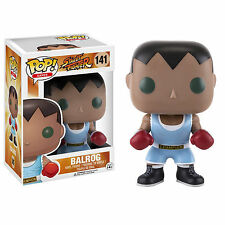 Funko Street Fighter POP Balrog Vinyl Figure NEW Toys Video Game Collectibles